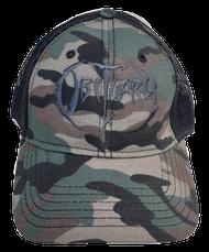 """Army Camo"" Hat Black Logo"