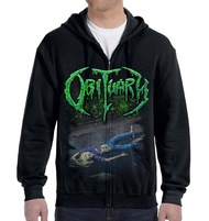 """""""30 Years and Still Rotting"""" Zipper Hoodie"""