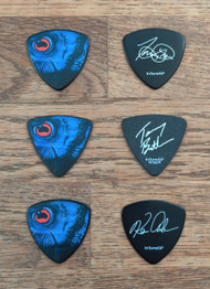 """Trevor, Kenny & Terry - Cause of Death 30th Anniversary"" Signature Guitar Picks"