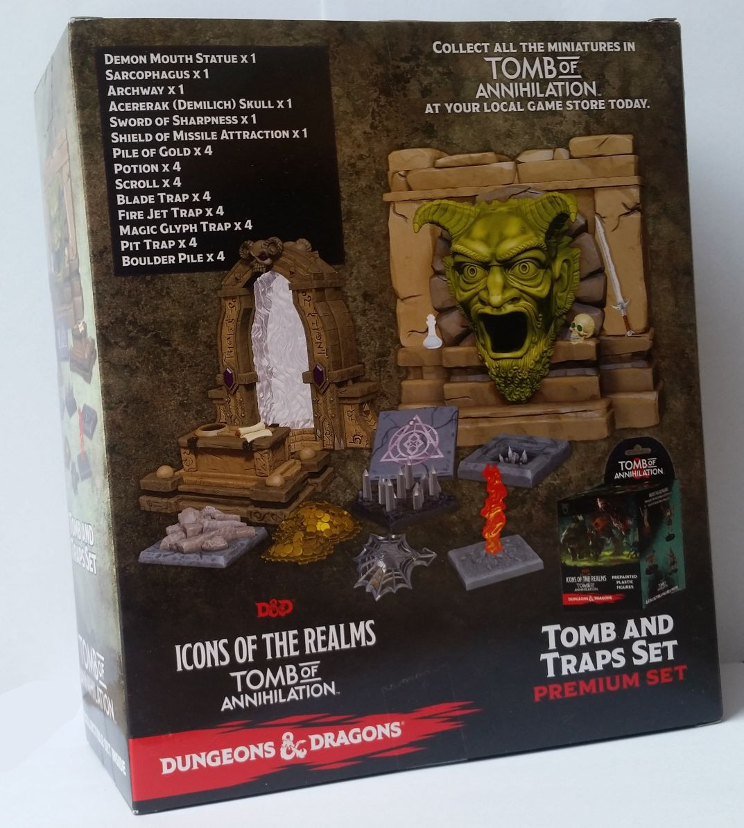 PIT TRAP Tomb of Annihilation Premium D/&D Dungeons and Dragons set