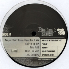 """Various Artists - Elephant Tracks - 12"""" Vinyl"""