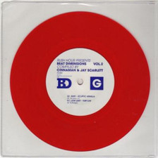 "Cinnaman/Scarlett - Beat Dimensions Vol 2 - 7"" Vinyl"