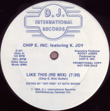 "Chip E Inc. - Like This - 12"" Vinyl"