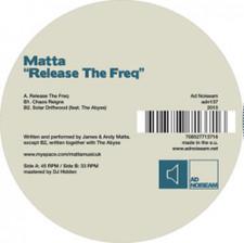 """Matta - Release the Freq - 12"""" Vinyl"""