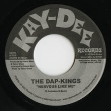 "The Dap-Kings - Nervous Like Me - 7"" Vinyl"
