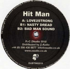 "Hit Man - Love2strong - 12"" Vinyl"