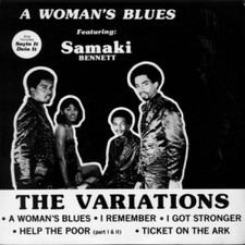 "The Variations - A Woman's Blues - 12"" Vinyl"
