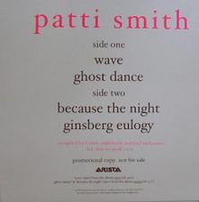 "Patti Smith - Wave/Ghost Dance - 12"" Vinyl"
