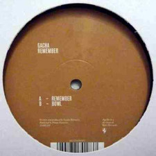 "Gacha - Remember - 12"" Vinyl"