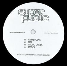 "Super Public - More Than a Marathon - 12"" Vinyl"