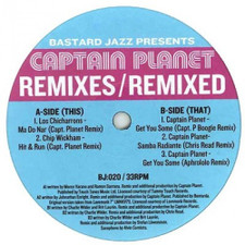 "Captain Planet - Remixes - 12"" Vinyl"