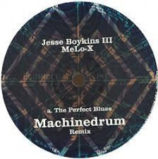 "Jesse Boykins III & Melo-X - Perfect Blues - 10"" Vinyl"