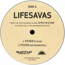 "Lifesavas - Fever/Selector - 12"" Vinyl"