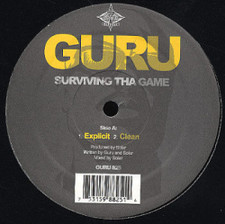 "Guru - Surviving the Game - 12"" Vinyl"