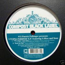 """Patrick Pulsinger - Utopia Parkway - 12"""" Vinyl"""