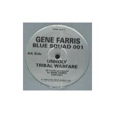 """Gene Farris - Blue Squad 001 - 12"""" Vinyl"""
