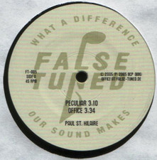 "Paul St. Hilaire - Peculiar - 12"" Vinyl"