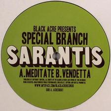 "Sarantis - Meditate/Vendetta - 12"" Vinyl"