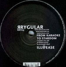 "From Karaoke Stardom - Ill@Ease - 12"" Vinyl"