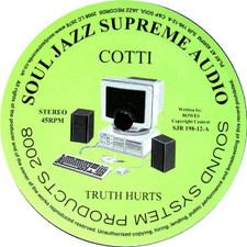 """Cotti King Soly - Truth Hurts - 12"""" Vinyl"""