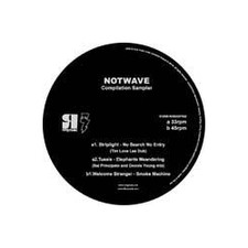 "Various Artists - Notwave Sampler Vol.1 - 12"" Vinyl"