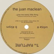 """Juan Maclean / Rapture - Split - 12"""" Vinyl"""