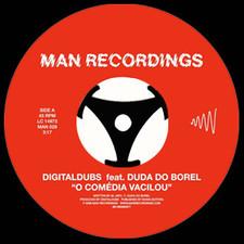 """Digitaldubs - O Comedia Vacilou - 7"""" Vinyl"""