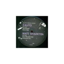 """Matt Shadetek - vs. CAUTO Dutty Remix Zero - 12"""" Vinyl"""