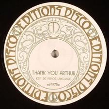 "Prince Language / Kai Alce - Thank You Arthur - 12"" Vinyl"