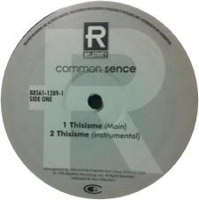 """Common Sense - Thisisme - 12"""" Vinyl"""