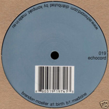 "Brendon Moeller - Birth/Medicine - 12"" Vinyl"