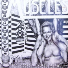 """Muscles - One Inch Badge - 12"""" Vinyl"""