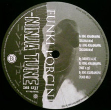 "Funki Porcini - King Ashabanapal - 12"" Vinyl"