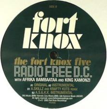 "Fort Knox Five - Radio Free D.C. 1 - 12"" Vinyl"