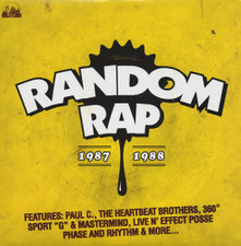 "Various Artists - Random Rap 1987-1988 - 12"" Vinyl"