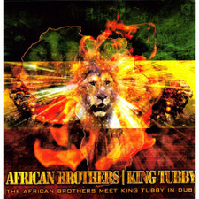 """African Brothers Meet King Tubby - In Dub - 12"""" Vinyl"""