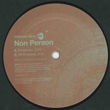 """Non Person - Presenser - 12"""" Vinyl"""