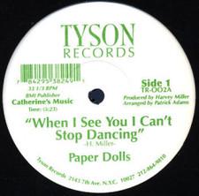 "Paper Dolls - Can't Stop - 12"" Vinyl"