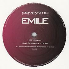 "Emile - Unnuh/Blissfully Done - 12"" Vinyl"