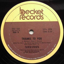 "Sinnamon - Thanks To You - 12"" Vinyl"