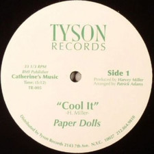 "Paper Dolls / Lonzine Wright - Cool It / Stop The Taxi - 12"" Vinyl"