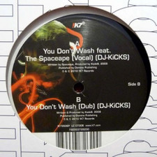"Kode9 - You Don't Wash - 12"" Vinyl"