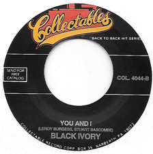 "Black Ivory - Don't Turn - 7"" Vinyl"