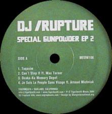 "DJ Rupture - Special Gunpowder Ep 2 - 12"" Vinyl"