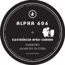 "Alpha 606 - Electronica Afro-Cubano - 12"" Vinyl"
