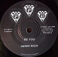 "Henri Rich - Be You - 7"" Vinyl"