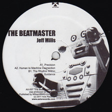 "Jeff Mills - The Beatmaster - 12"" Vinyl"