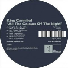 "King Cannibal - All The Colours Of The Night - 12"" Vinyl"