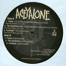 "Aceyalone - Faces/Guidelines 94 - 12"" Vinyl"