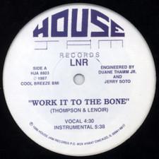 "LNR - Work It To The Bone - 12"" Vinyl"